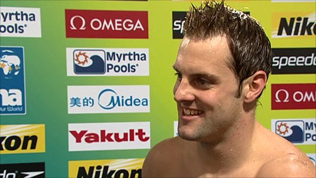 World gold medallist Liam Tancock