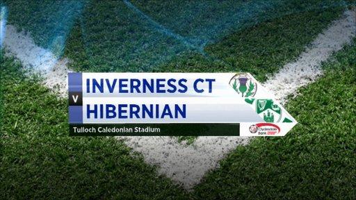 Highlights - Inverness 0-1 Hibernian