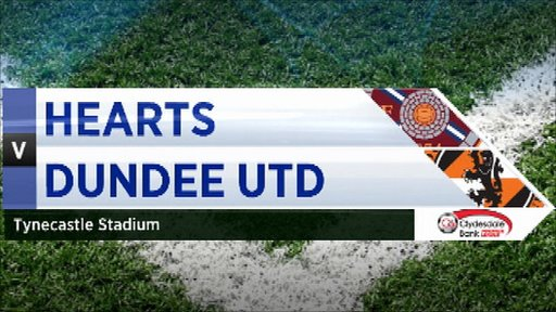 Highlights - Hearts 0-1 Dundee United