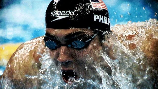 Swimming legend Michael Phelps
