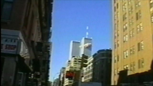 Plane hits North Tower of the World Trade Center