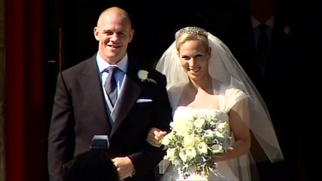 Mike Tindall and Zara Phillips