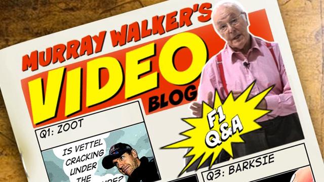 Murray Walker Q & A
