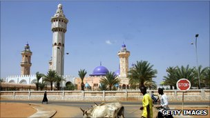 Great Mosque in Touba, Senegal
