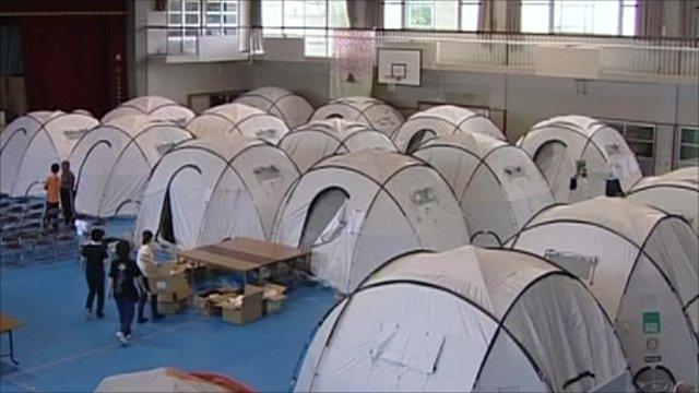 Japan tents