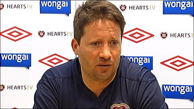 Hearts boss Paulo Sergio