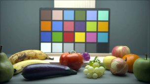 Still life and colour board