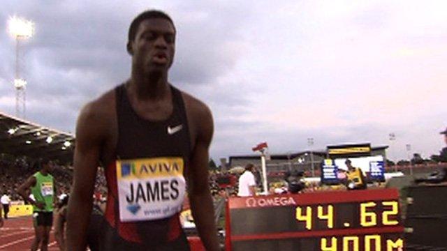 Grenada's 18-year-old 400m sensation Kirani James