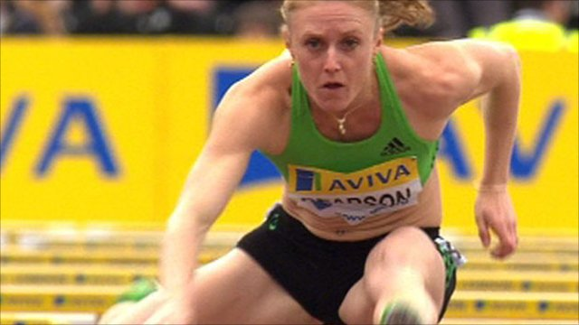 Australian athlete Sally Pearson