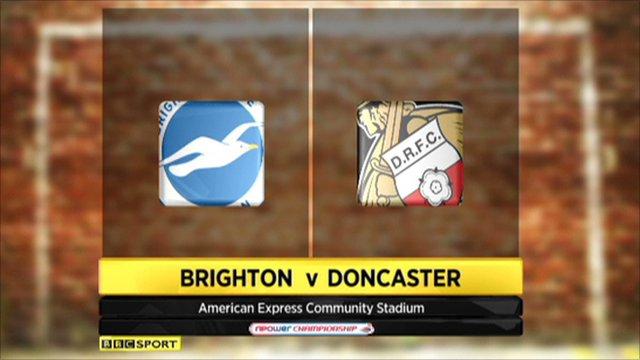 Doncaster 1-2 Brighton
