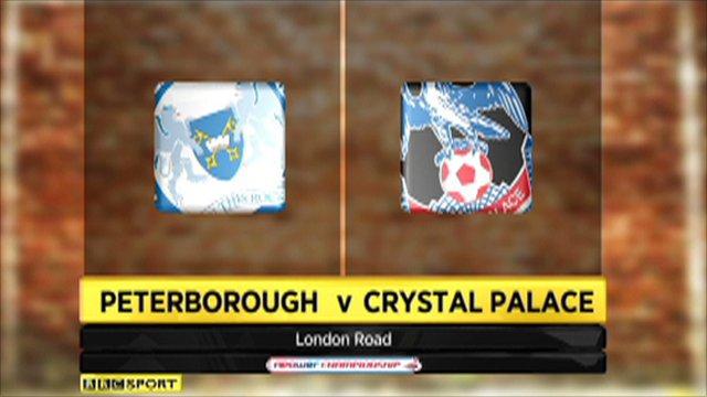 Peterborough 2-1 Crystal Palace