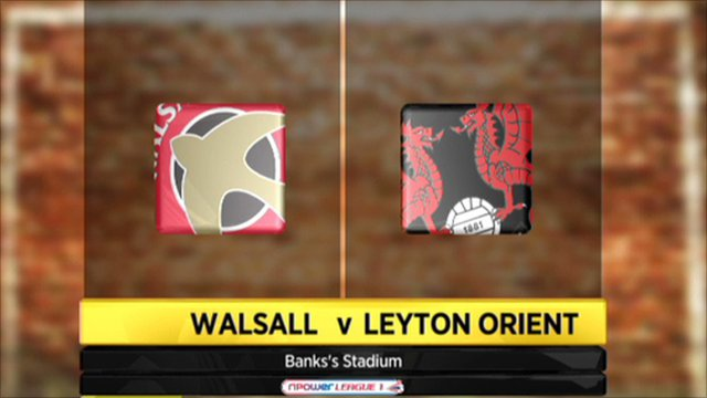 Walsall 1-0 Leyton Orient