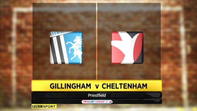 Gillingham 1-0 Cheltenham