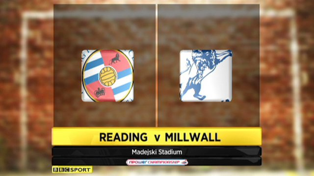 Reading 2-2 Millwall