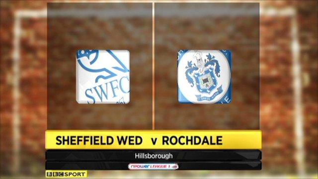Sheffield Wednesday 2-0 Rochdale