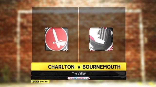 Charlton 3-0 Bournemouth
