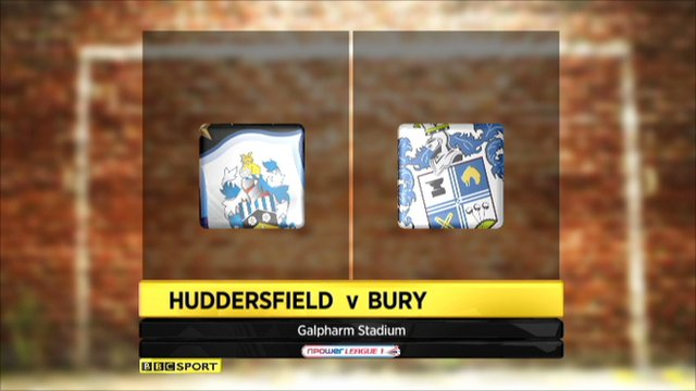Huddersfield 1-1 Bury