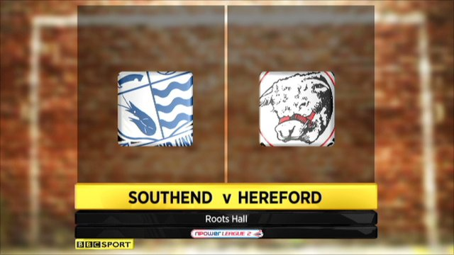 Southend 1-0 Hereford