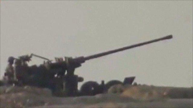 The Syrian Army in Deir al-Zour