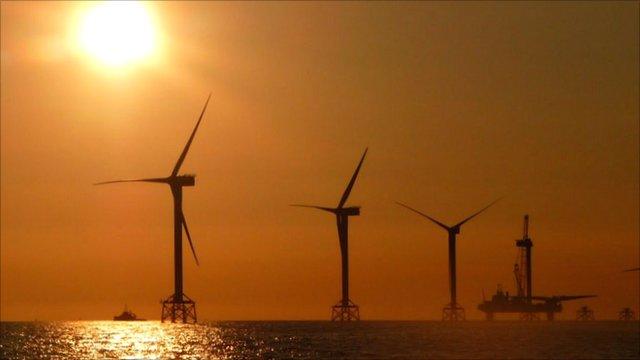Wind farm installation