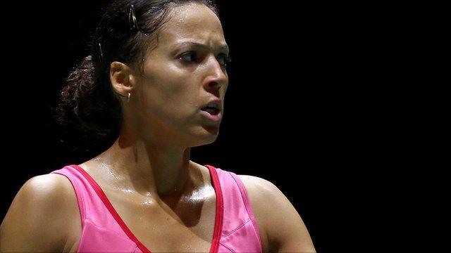 Commonwealth bronze medallist Elizabeth Cann