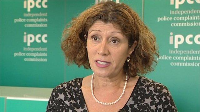 IPCC commissioner, Rachel Cerfontyne