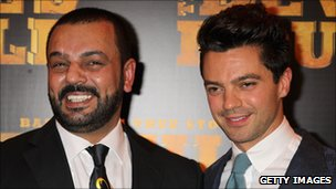 Latif Yahia and Dominic Cooper