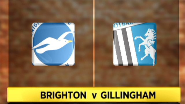 Brighton 1-0 Gillingham