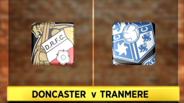 Doncaster 3-0 Tranmere