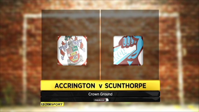 Accrington Stanley 0-2 Scunthorpe United