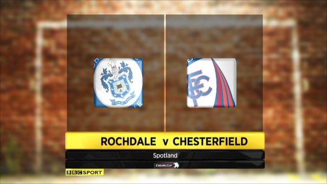 Rochdale v Chesterfield
