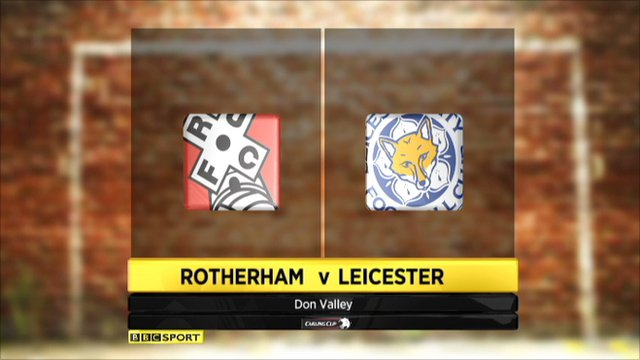 Rotherham 1-4 Leicester