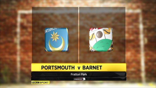 Portsmouth 0-1 Barnet