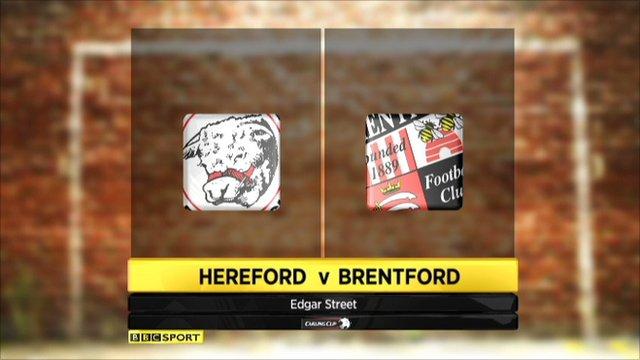 Hereford 1-0 Brentford