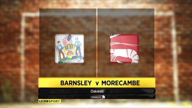 Barnsley 0-2 Morecambe