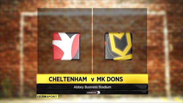 Cheltenham 1-4 MK Dons