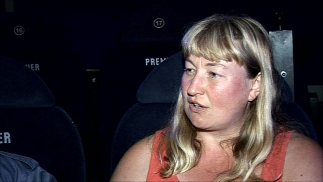 Cinema goer who has Asperger syndrome
