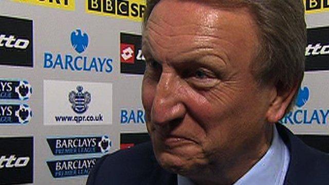 QPR manager Neil Warncock