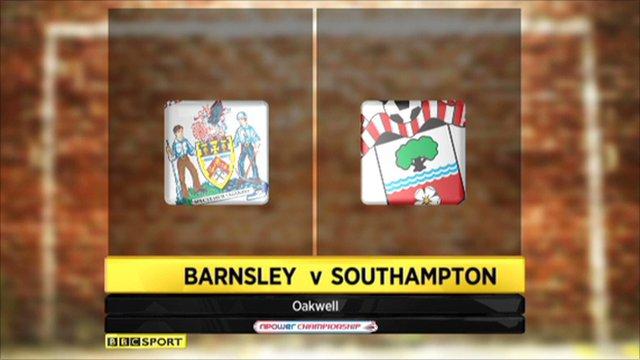 Barnsley 0-1 Southampton