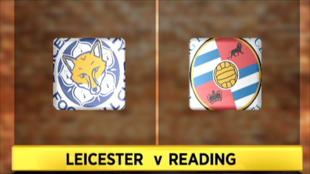 Leicester 0-2 Reading