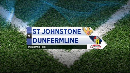 Highlights - St Johnstone 0-1 Dunfermline
