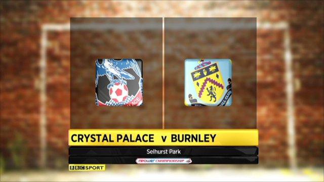 Crystal Palace 2-0 Burnley