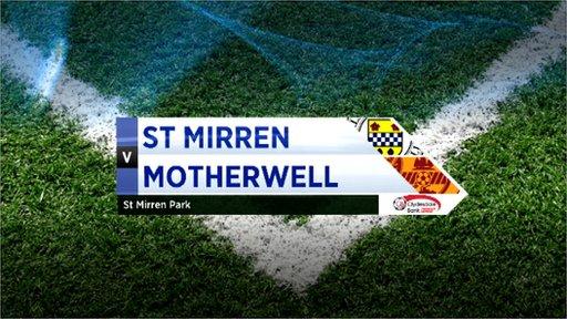 Highlights - St Mirren 0-1 Motherwell