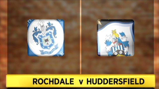 Rochdale 2-2 Huddersfield
