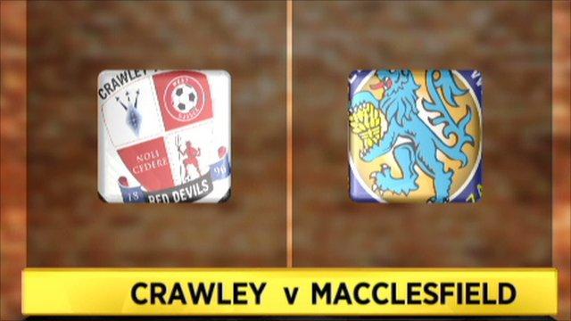 Crawley Town 2-0 Macclesfield