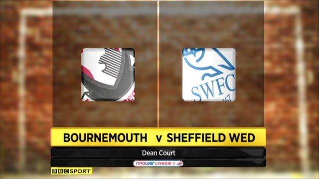 Bournemouth 2-0 Sheffield Wed