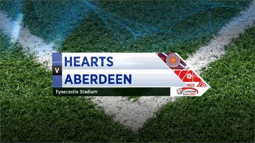 Highlights - Hearts 3-0 Aberdeen