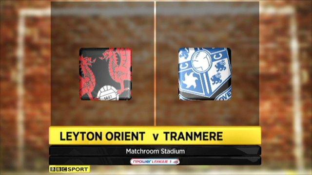 Leyton Orient 0-1 Tranmere
