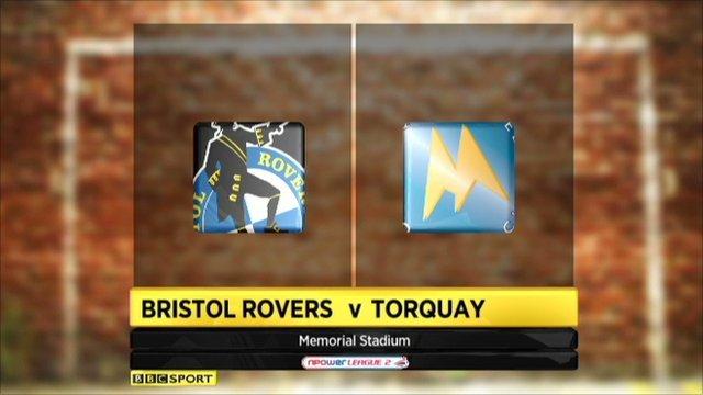 Bristol Rovers 0-2 Torquay
