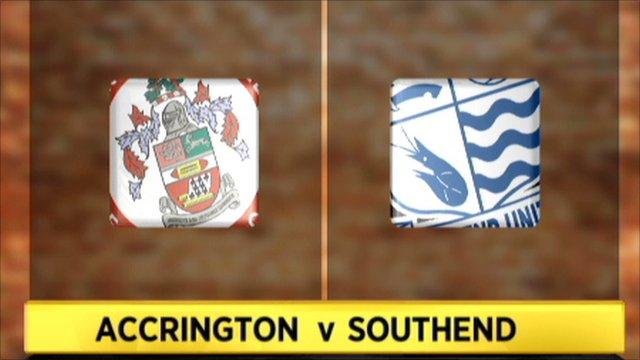 Accrington Stanley 1-2 Southend